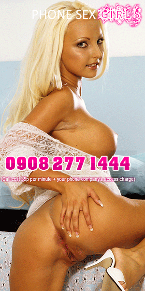 blonde bombshell phone sex